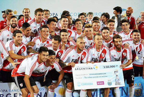 Con un plantel renovado, River se consagró campeón de la Copa Argentina 2016. (Foto: Prensa River Plate)
