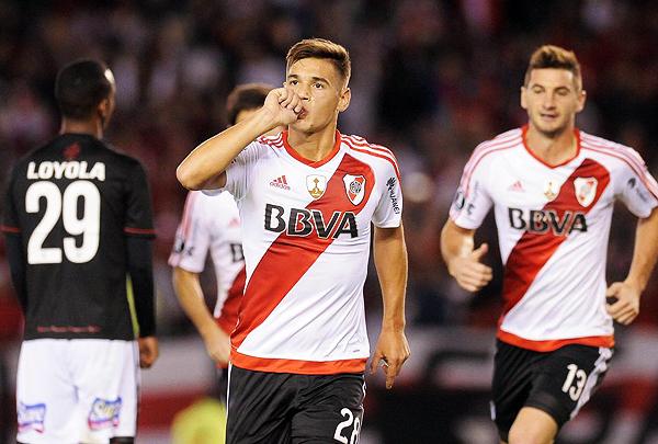 Lucas Martínez Quarta fue uno de los jugadores que se ganó la confianza de Gallardo. (Foto: AFP)