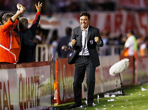 Marcelo Gallardo disfruta las mieles del éxito con River Plate. (Foto: AFP)