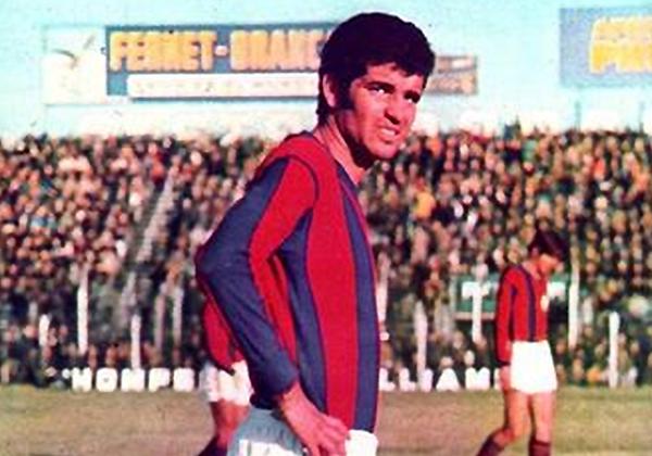 Roberto Telch fue una de las grandes figuras de San Lorenzo (Foto: Diario 26)