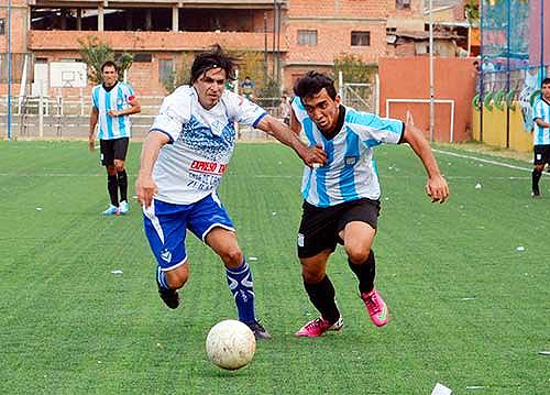 La temporada 2013-2014 del ascenso boliviano tiene al club García Agreda como uno de los candidatos, mientras que Ciclón se quedó en el camino durante la primera parte del torneo (Foto: ciclontarija.com)