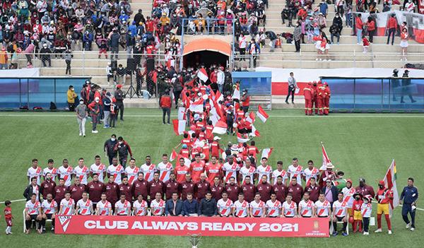 El histórico título de Always Ready en 2020 pone la valla elevadísima para el conjunto de El Alto en esta nueva temporada. (Foto: Prensa Always Ready)