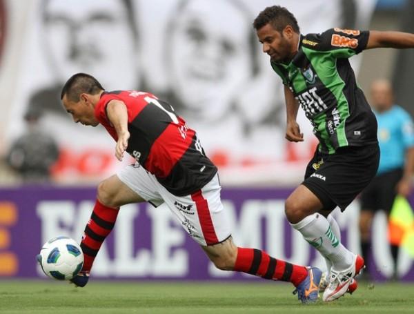 GOLEADENSE. Atlético Goianiense le ganó 5 a 1 a América. El marcador más abultad del local en esta temporada. (Foto: Agencia Estado)