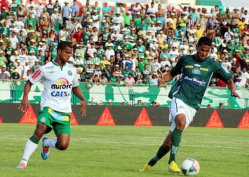 Chapecoense logró vitales triunfos, tal como el de la penúltima fecha en su visita al Icasa (Foto: ndonline.com.br)