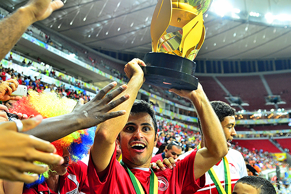 El título de la Copa Verde le dio a Brasilia el pase a la Copa Sudamericana. (Foto: prensa Brasilia FC)