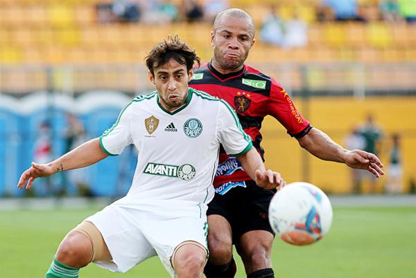 Palmeiras es otro de los equipos que pese a toda su historia disputa la segunda categoría en el fútbol brasileño (Foto: Gazeta Press)