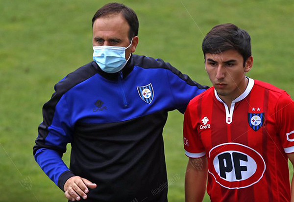 Juan José Luvera espera cumplir una buena campaña con Huachipato. (Foto: Prensa Huachipato)