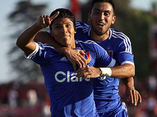Con el ritmo que lleva en la 'U' de Chile es muy probable que equipos de Europa le echen el ojo a la 'Pulga' en cualquier momento (Foto: todobulla.cl)