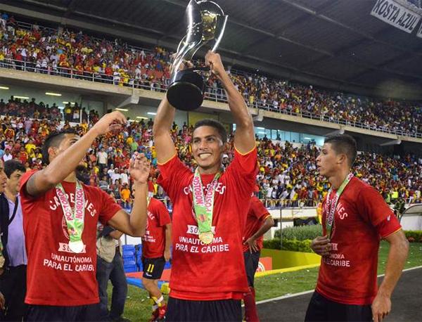 Uniautónoma cerró una gran temporada en la que, pese a perder a su goleador en el primer semestre, logró adueñarse del título (Foto: Colprensa)