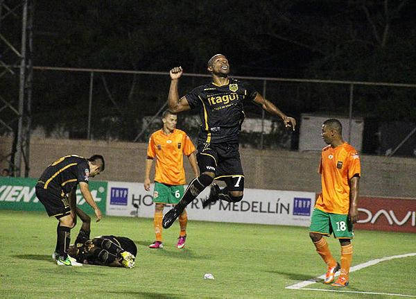 Itagüí ascendió rápido en el fútbol colombiano, siendo uno de los protagonistas que lucha por los primeros lugares desde la pasada temporada (Foto: aguilasdoradasitagui.com)