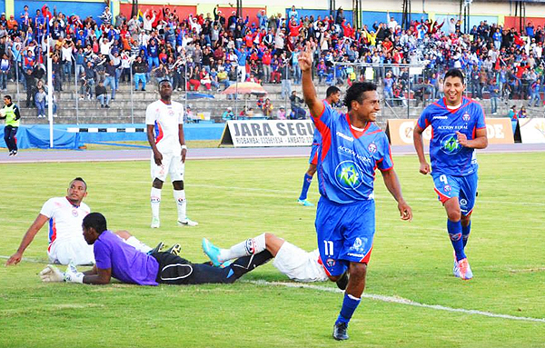 El 'Mago' Franklin Salas fue una de las figuras con las que Olmedo logró el ascenso a la Primera División de Ecuador (Foto: centrodeportivoolmedo.com)