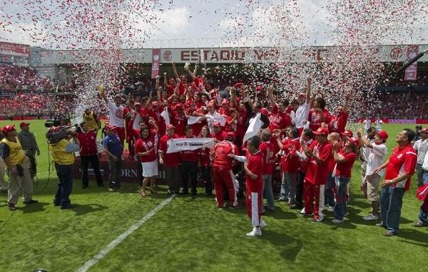 Toluca, pese a la dramatica definición desde los doce pasos, fue un justo campeón (Foto: AFP)