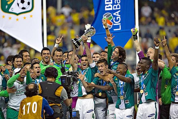 León campeonó con autoridad en una final que lo enfrentó al América que no pudo evitar los triunfos de su rival (Foto: Imago 7)