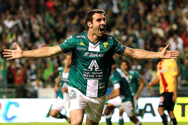 Campeón y goleador. A Mauro Boseli mejor no le pudo ir en el segundo semestre de 2013 con la camiseta del León (Foto: Mexsport)
