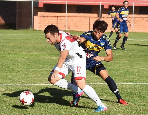 River Plate - Sport Trinidense (Foto: ABC Color)