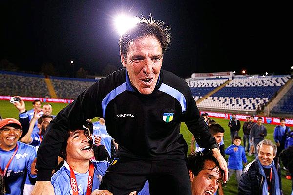 Berizzo es casi un ídolo en O'Higgins. (Foto: Prensa O'Higgins)