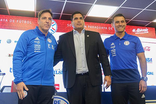 ¿Cómo le irá a Berizzo en Paraguay? (Foto: Tigo Sport)
