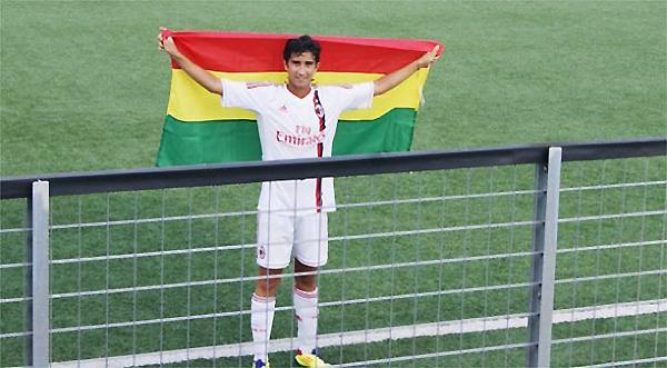 Si bien no ha confirmado su presencia en el seleccionado boliviano, las esperanzas de ese país se posan en Sebastián Gamarra (Foto: Los Tiempos)