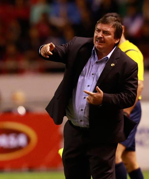 Ramírez lleva un año al mando de Costa Rica. (Foto: Prensa FCF)