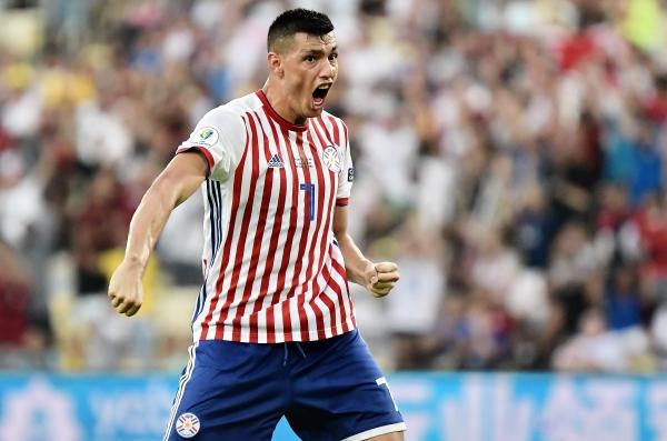 El grito de Cardozo que acabó frustrado por el VAR. (Foto: Prensa Copa América)