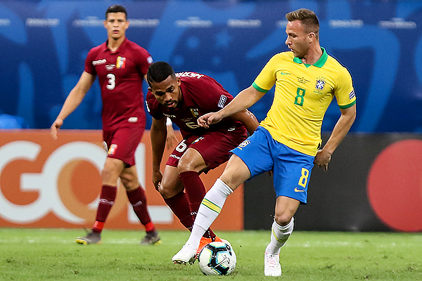 Arthur (Foto: Prensa Copa América 2019)