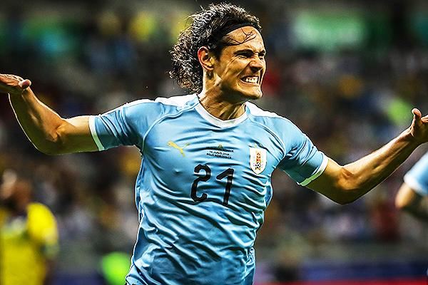 Cavani (Foto: Prensa Copa América 2019)