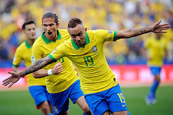 Everton (Foto: Prensa Copa América 2019)