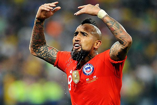 Vidal (Foto: Prensa Copa América 2019)