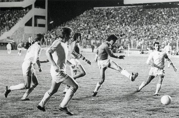 En 1977 Hungría también tuvo ocasión de ganarle a domicilio a Bolivia (Foto: historiadelfutbolboliviano.com)