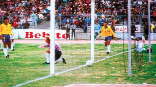 No fue su primer partido, tampoco su primera victoria, pero el triunfo de Bolivia sobre Brasil en 1993 fue uno de los mejores momentos en su campaña rumbo al Mundial de 1994 (Foto: la-razon.com)