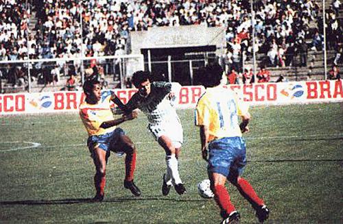 Un duelo parejo fue el que se dio entre Bolivia y Ecuador, lo cerrado del marcador da fe de ello (Foto: historiadelfutbolboliviano.com)
