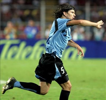 Pablo García es una baja casi segura para Tabárez en Uruguay (Foto: 20minutos.es)