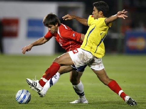 Colombia estuvo perdido en Nuñoa y, pese a los cambios defensivos, fue pasado por encima por la 'Roja' (Foto: eltiempo.com.co)