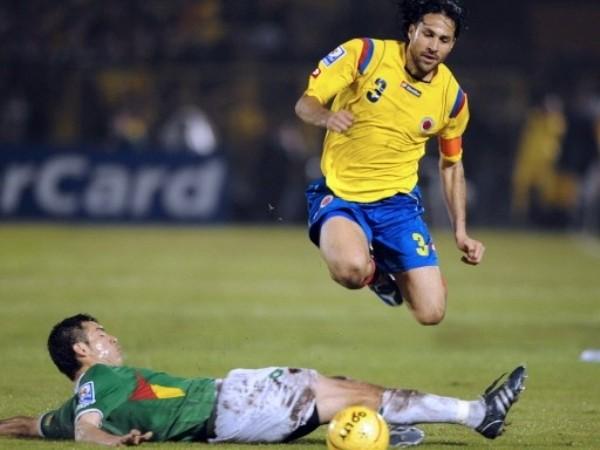 SALTA EN LA TABLA. Colombia consiguió sin mucho sufrimiento tres puntos claves. Con el salto de Yepez lográ escalar en la tabla (Foto: FIFA)