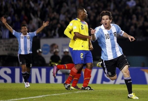 Argentina lidera las Eliminatorias en Sudamérica y por su juego parece que no tendrá problemas para clasificar (Foto: Reuters)