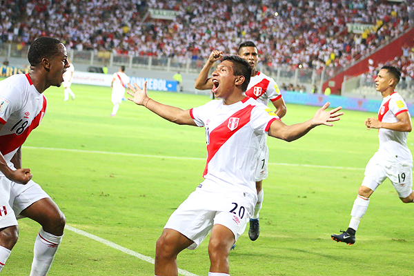 Edison Flores y el grito de gol triunfal ante Uruguay que hizo explotar a todo un país
