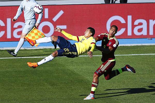 Colombia es una selección con muchos recursos ofensivos. (Foto: EFE)