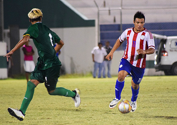 En el último amistoso entre la Sub-17 de Paraguay y Bolivia hubo empate. (Foto: APF)