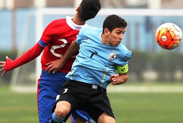 Juan Manuel Sanabria es uno de los jugadores que espera mostrarse en el Sudamericano Sub-17. (Foto: Ovación digital de Uruguay)