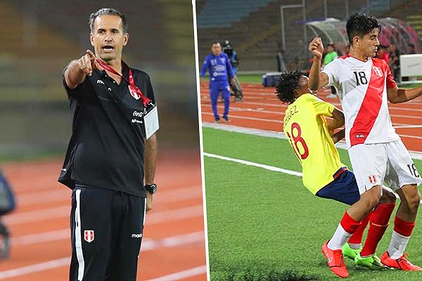 Tanto Silvestri como Rodríguez guardaron titulares, pero al peruano le funcionó mejor la apuesta. (Fotos: Prensa FPF; Carlos Sipán / TVX)