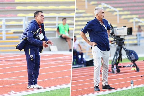 José Hernández y Javier Rodríguez optaron por dos atacantes en el encuentro. (Foto: Pedro Monteverde / DeChalaca.com)