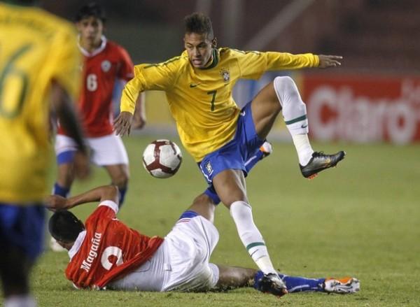 El crack santista fue el mejor de la selección sub 20 de Brasil que ganó el Sudamericano de la categoría en el Perú (Foto: Reuters).