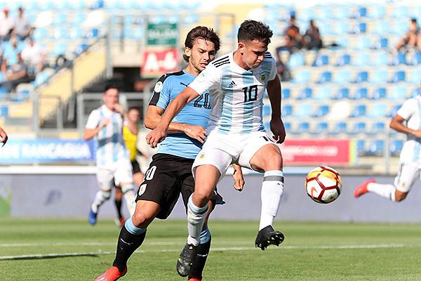Maroni fue de los más creativos en Argentina, que logró el boleto al Mundial. (Foto: Conmebol)