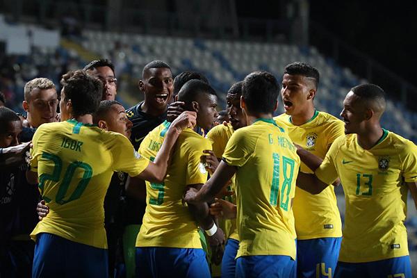 Brasil sonrió parcialmente con el tanto de Igor. Sin embargo, lo de Rodrygo y compañía fue insuficiente. (Foto: Conmebol)