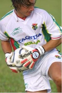 José Carlo Fernández, del arco de la selección boliviana al de José Gálvez (Foto: bestiariodelbalon.com)
