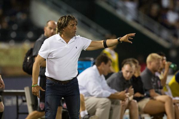 Llegó a la NASL a dirigir a Jacksonville Armada FC. (Foto: NASL)