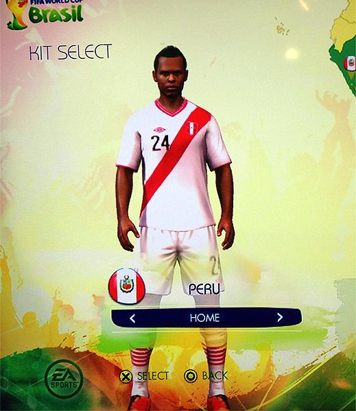 ¿Luis Trujillo o Yordy Reyna? a qué futbolista peruano se parece más este jugador de la selección (Captura: EASports)