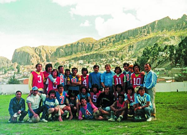Bolivia también lo tuvo como técnico en uno de sus periplos por Sudamérica (Foto: rudi-gutendorf.de)