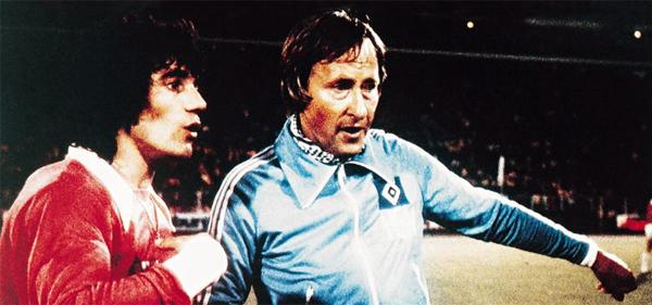 A su regreso al fútbol alemán dirigió, entre otros, al Hamburgo (Foto: rudi-gutendorf.de)