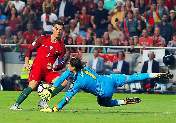 Portugal y Cristiano Ronaldo dirán presente en Rusia 2018. (Foto: AFP)